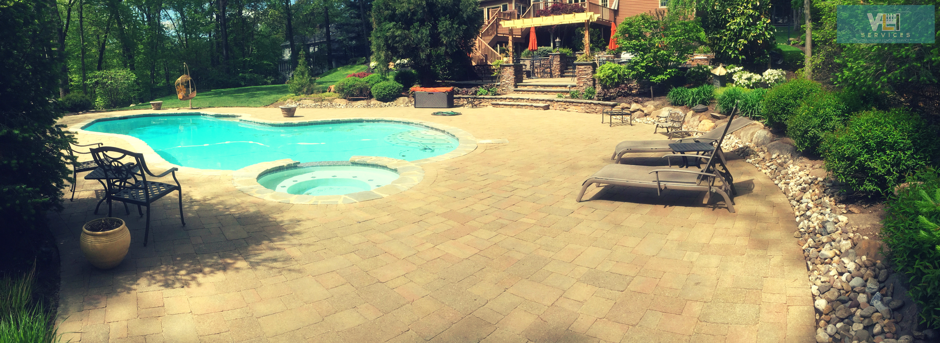 Hardscaping services by VLI Services